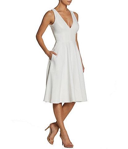 Dress the Population Catalina Crepe A-Line Dress
