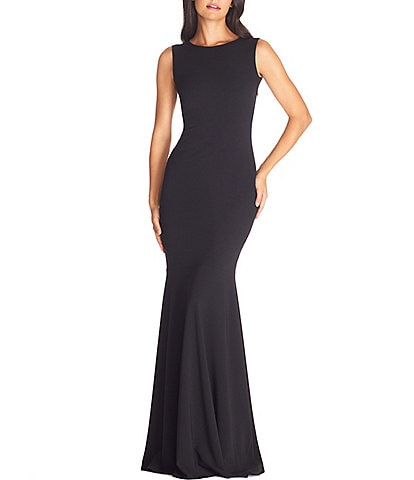 Dress The Population Leighton Sleeveless Sheath Gown
