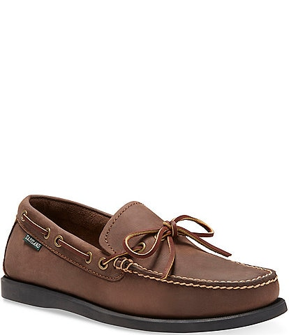 Eastland Men's Yarmouth Bomber Leather Camp Moc Slip On