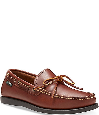 Eastland Men's Yarmouth Waxee Leather Camp Moc Slip On