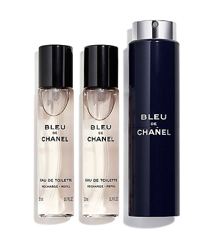 629053ee0d1 CHANEL BLEU DE CHANEL EAU DE TOILETTE REFILLABLE TRAVEL SPRAY