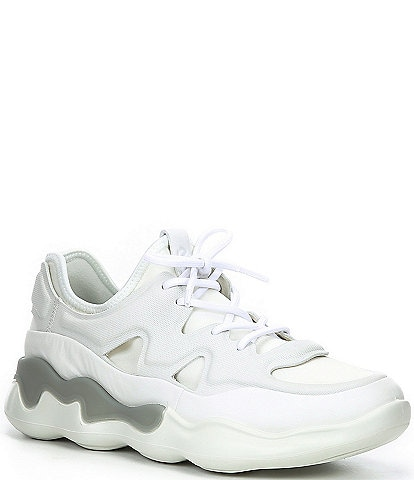 ECCO Elo W Athletic Leather Chunky Sneakers