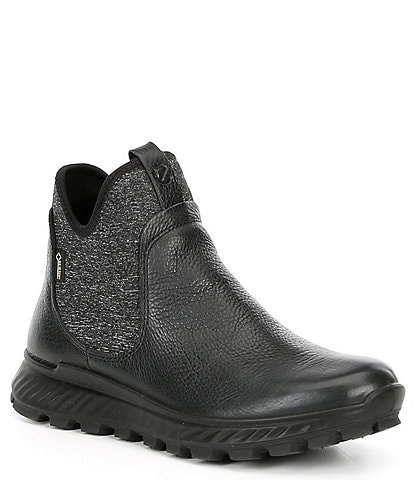 ECCO Exostrike GTX Waterproof Leather Chelsea Boots