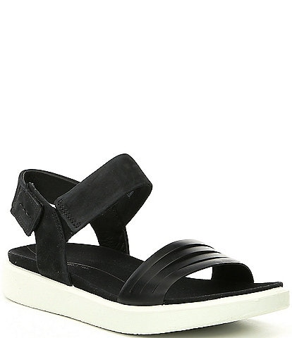 020b3c58a ECCO Flowt Strap Leather Sandals