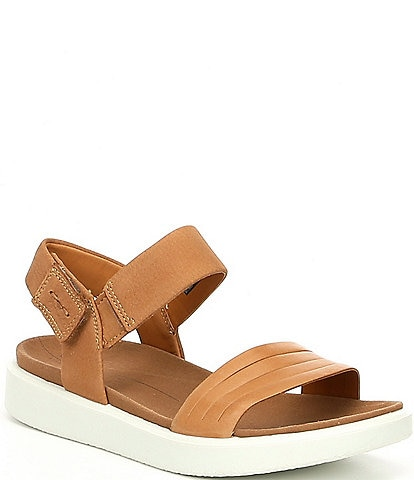 af737977905d ECCO Flowt Strap Leather Sandals
