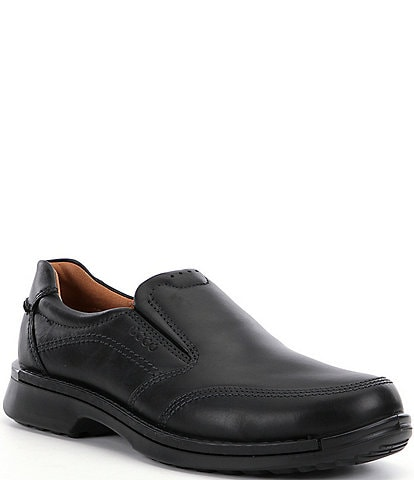 ECCO Men's Fusion II Perforated Leather Slip-Ons