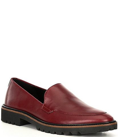 ECCO Incise Tailored Leather Loafers
