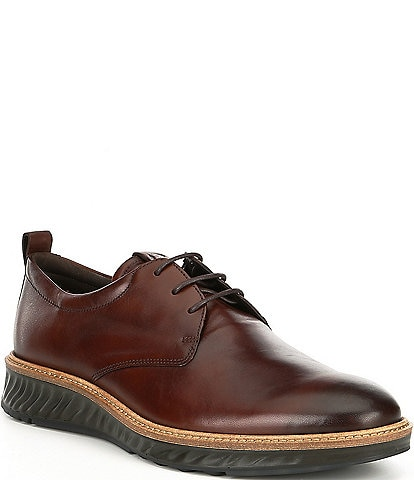 ECCO Men's ST1 Hybrid Leather Plain Toe Oxfords