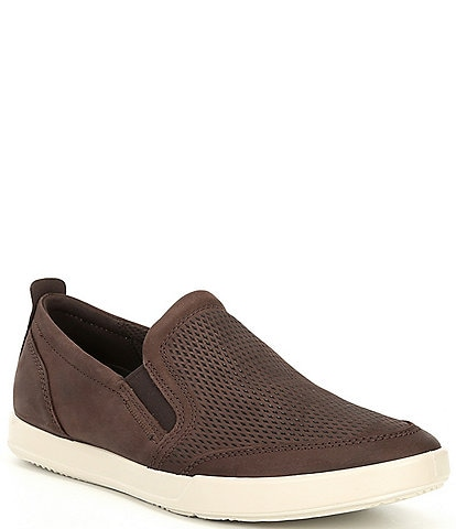 ECCO Men's Collin 2.0 Suede Slip On Sneakers