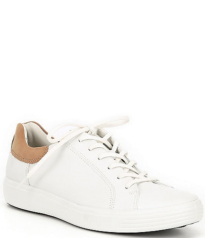 ECCO Men's Soft 7 Leather Street Sneakers