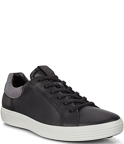 ECCO Men's Soft 7 Leather Street Sneakers