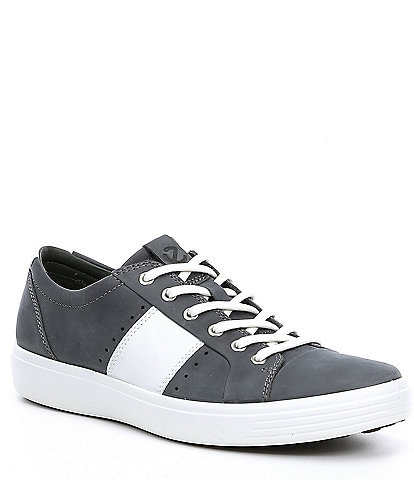 ECCO Men's Soft 7 Leather Summer Sneaker