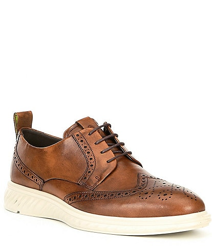 ECCO Men's St.1 Hybrid Lite Brogue Leather Oxfords