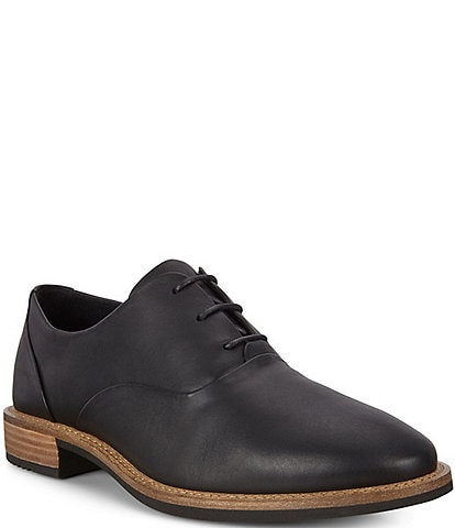 ECCO Sartorelle 25 Tailored Leather Tie Oxfords