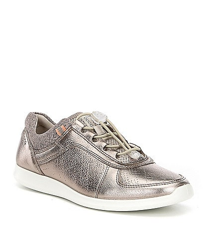 ECCO Sense Toggle Leather Sneakers