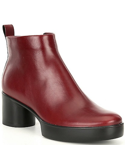 ECCO Shape Sculpted Motion 35 Leather Ankle Boots