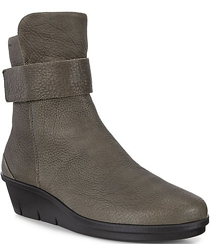 ECCO Skyler HM Leather Wedge Boots