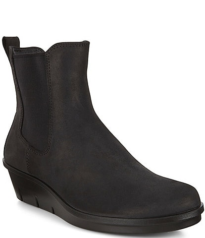 ECCO Skyler Wedge Water Repellent Chelsea Booties