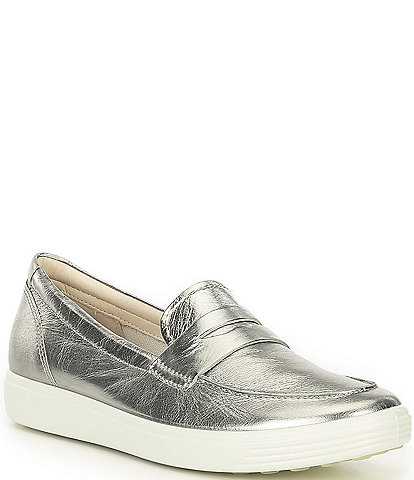 ECCO Soft 7 Leather Loafers