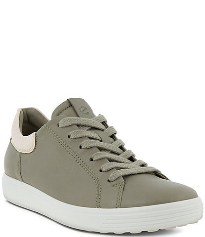 ECCO Soft 7 Leather Street Sneakers