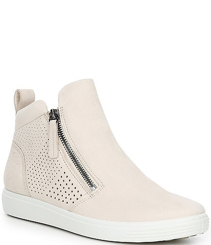 ECCO Soft 7 Perf Zip Booties