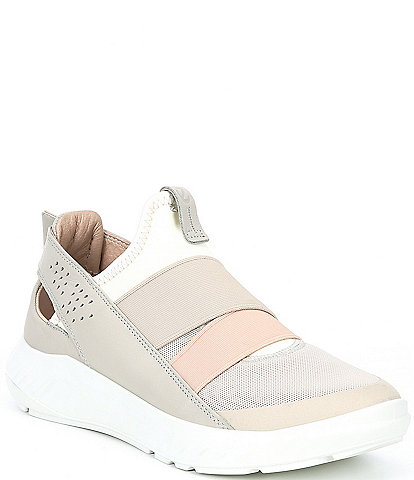 ECCO Soft Elastic Slip On Sneakers