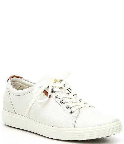 3f8ca7ec1f31 ECCO Soft 7 Leather Lace Up Sneaker