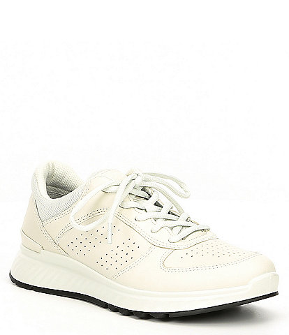 ECCO Womens Exostride Leather Sneakers