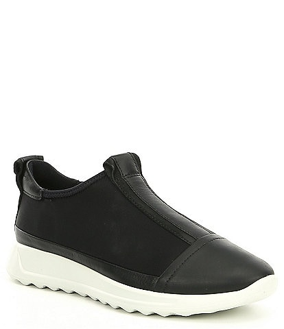 ECCO Womens Flexure Runner Slip Ons