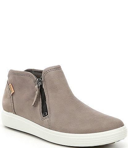 ECCO Women's Soft 7 Low Cut Zip Bootie Sneakers