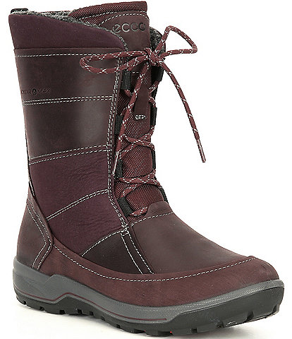 ECCO Women's Trace Lite Lace-Up Boots