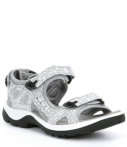 ECCO Yucatan Leather Banded Sandals