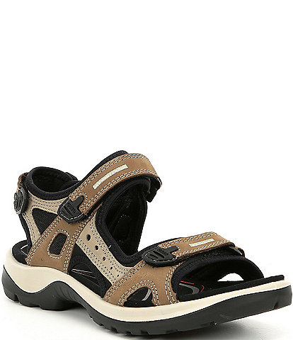 db41fc9918ed ECCO Yucatan Adjustable Strap Leather Sandals