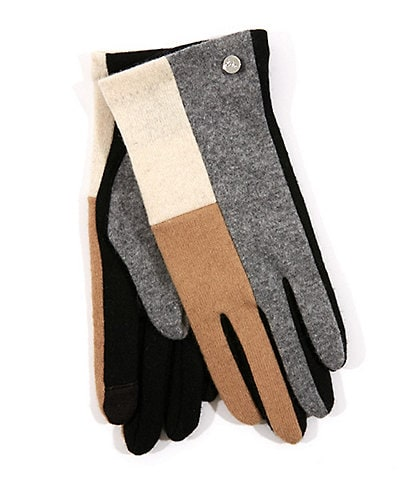 Echo Color Block Touch Gloves