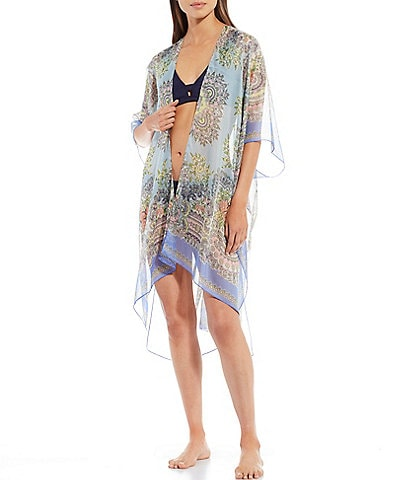 Echo Floral Paisley Duster