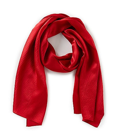 Echo Hammered Silk Oblong Scarf