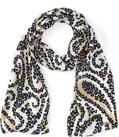 Echo Spotted Paisley Silk Scarf
