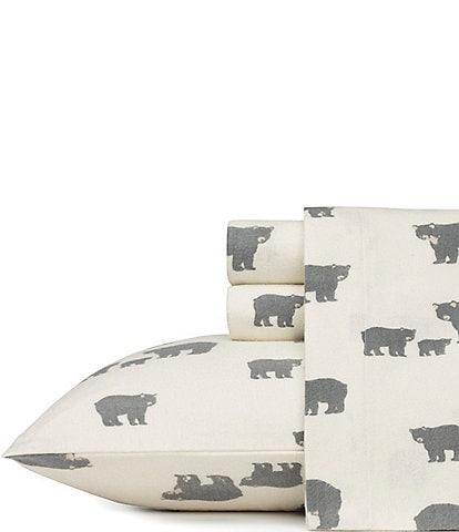 Eddie Bauer Bear Family Flannel Sheet Set