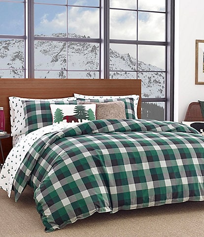 Eddie Bauer Birch Cove Plaid Comforter Mini Set