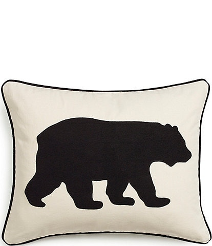 Eddie Bauer Black Bear Breakfast Pillow