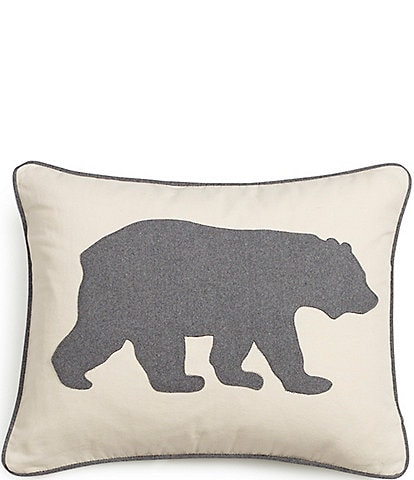 Eddie Bauer Charcoal Bear Breakfast Pillow