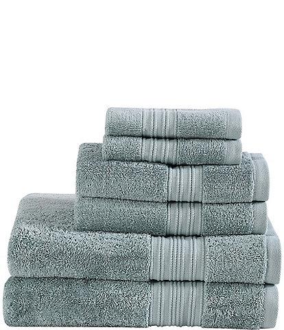 Eddie Bauer Denali Solid Antibacterial 6-Piece Towel Set