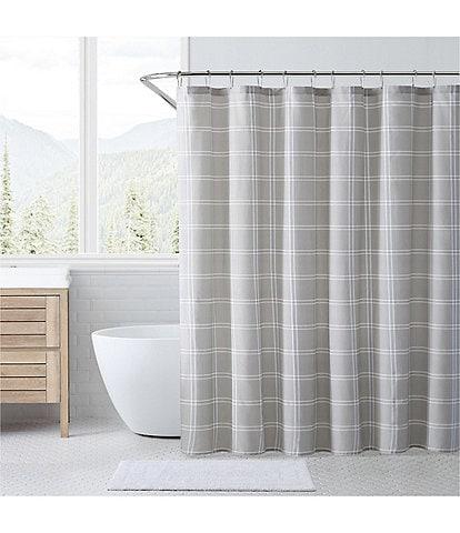 Eddie Bauer Kettle Falls Plaid Shower Curtain