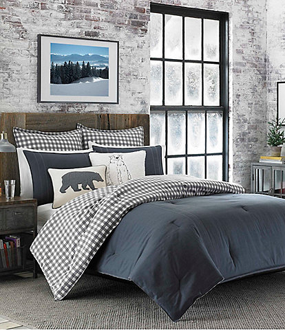 Eddie Bauer Kingston Charcoal Duvet Mini Set