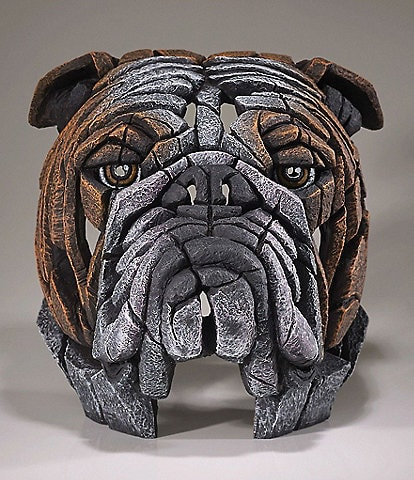 Edge Sculpture by Enesco Bull Dog Figure
