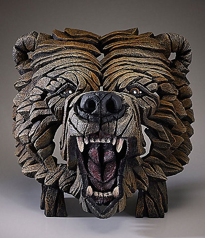 Edge Sculpture by Enesco Grizzly Bear Bust
