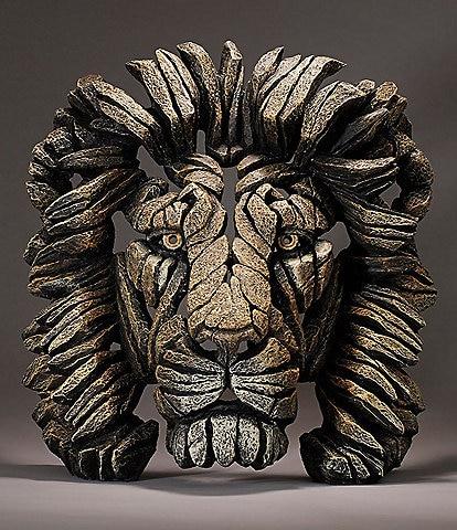Edge Sculpture by Enesco Lion Bust