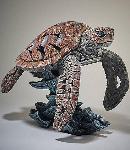 Edge Sculpture by Enesco Sea Turtle Figure