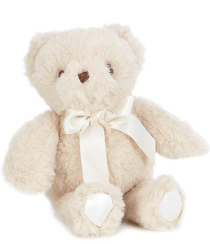 Edgehill Collection 5#double; Baby Bear Plush Rattle