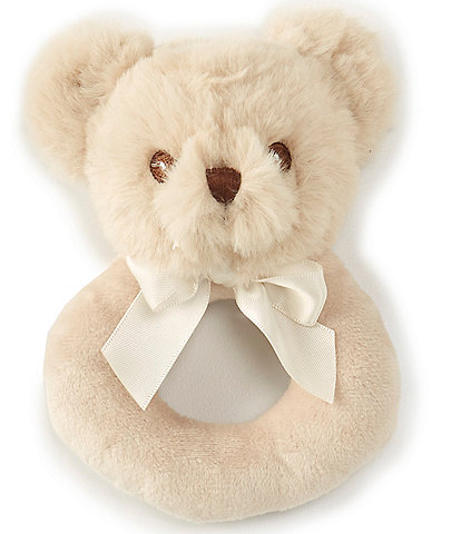 Edgehill Collection Baby Bear Ring Rattle
